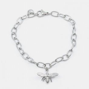 Bee Armband Silver