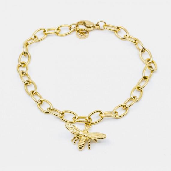 Bee Armband Guld