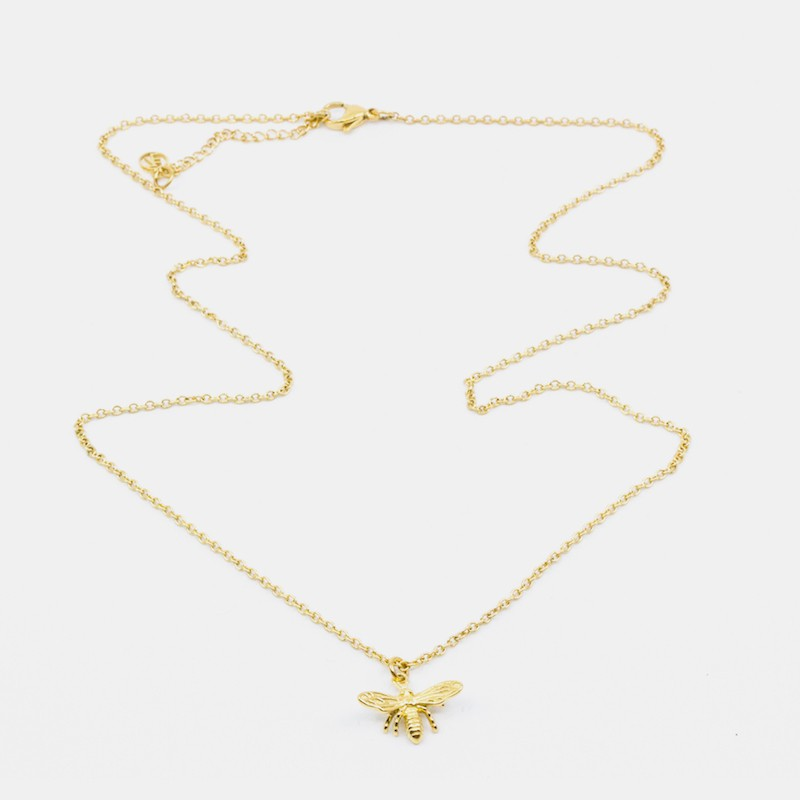 Bee Halsband 60 Guld