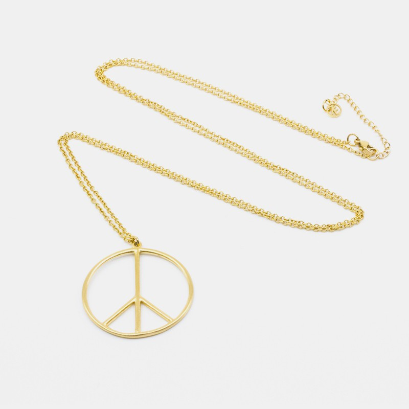 Peace Halsband 90 Guld