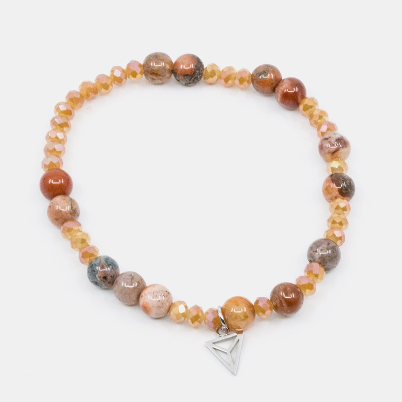 Elephant Armband Orange Y-YOGA