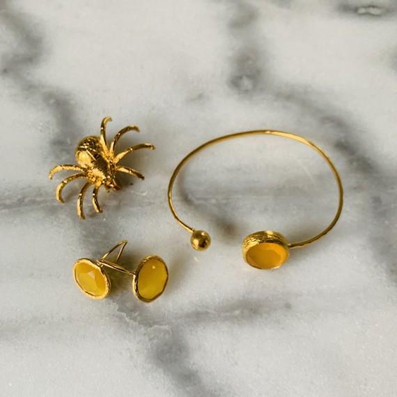 Lambda Armband Guld