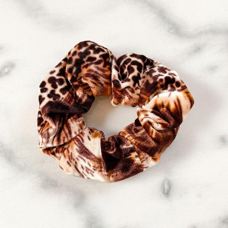 Velvet Scrunchie Multi