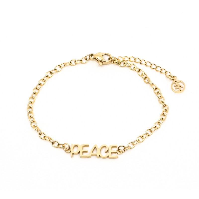Inner Peace Armband Guld