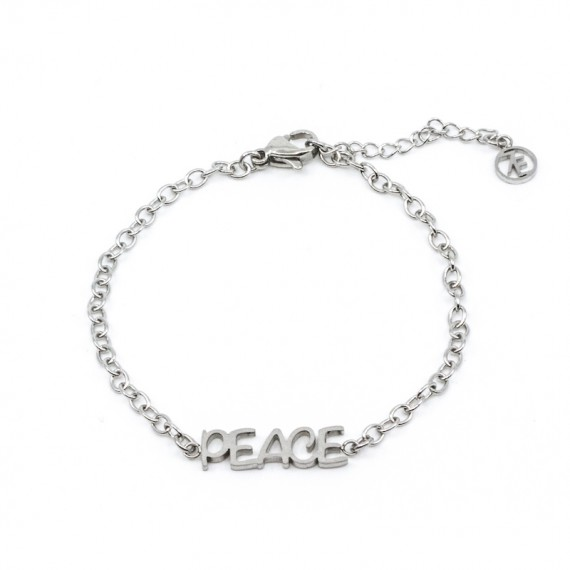 Inner Peace Armband Silver