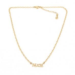 Inner Peace Halsband 42 Guld
