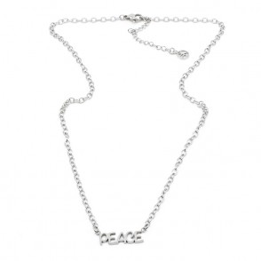 Inner Peace Halsband 42 Silver