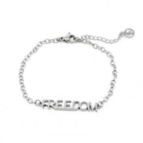 Freedom Armband Silver