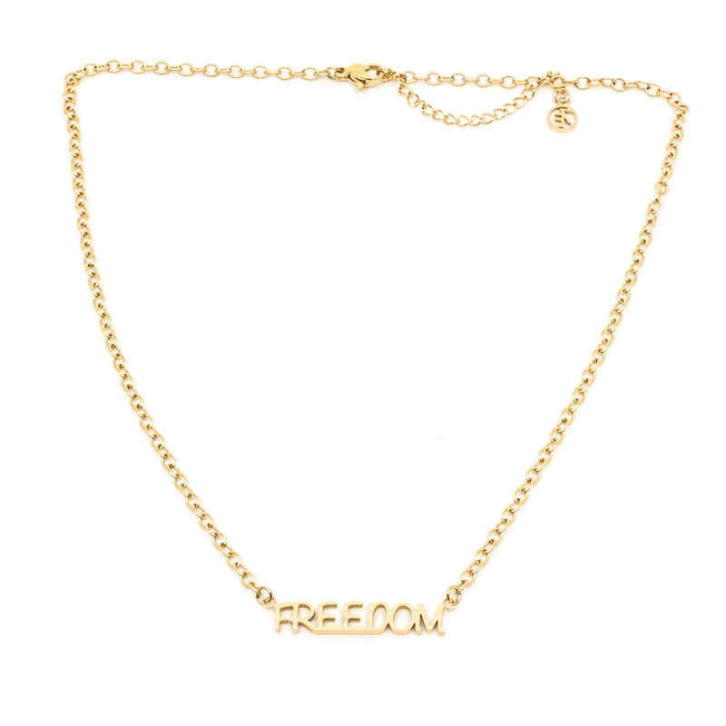 Freedom Halsband 42 Guld