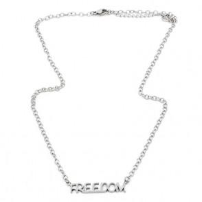 Freedom Halsband 42 Silver