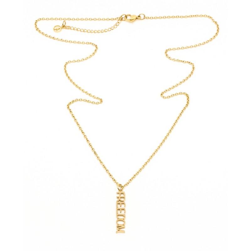 Freedom Halsband 60 Guld
