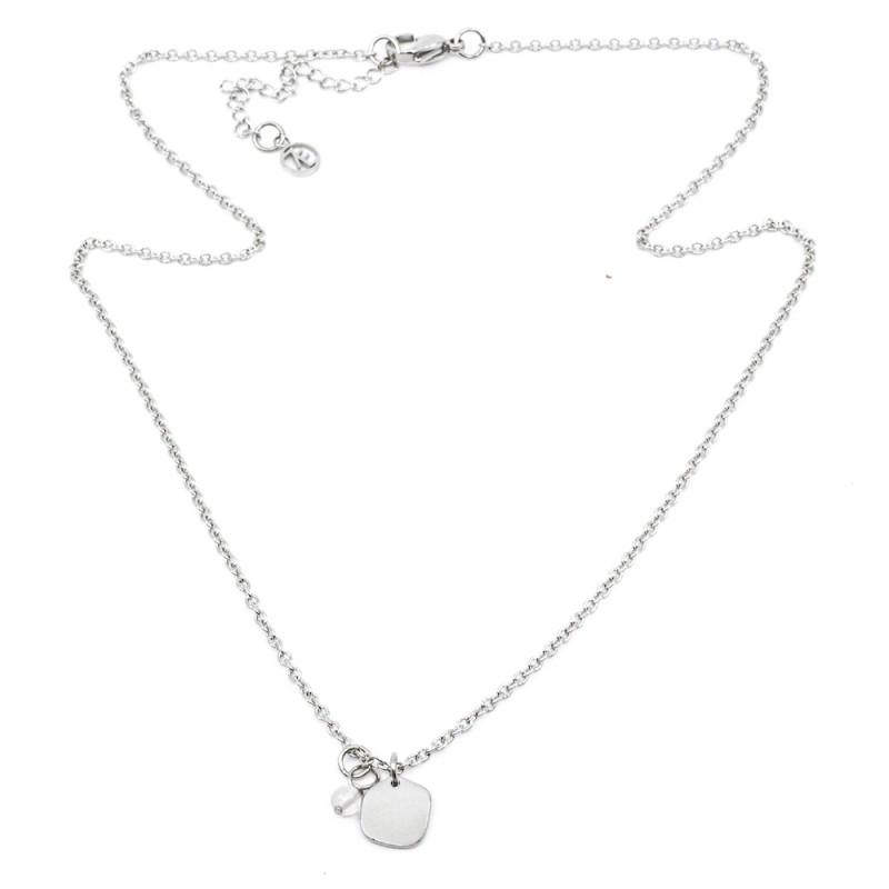 Seychelles Halsband 42cm Silver