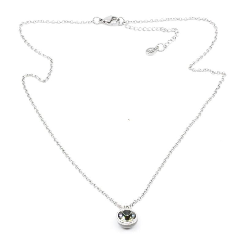 Swarovski Halsband 42cm Silver