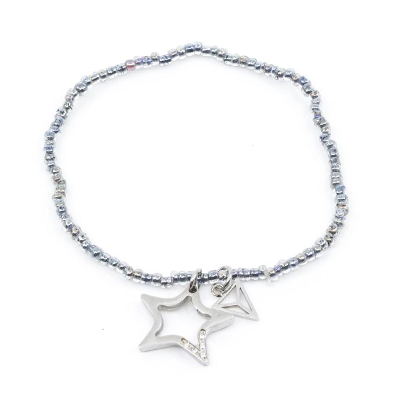 Shining Star Armband Blå