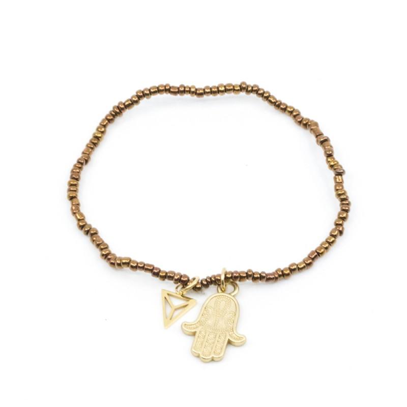 Fatima Armband Brun