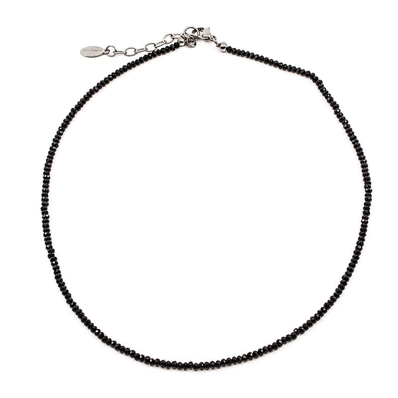 Sparkling Halsband 40cm Svart