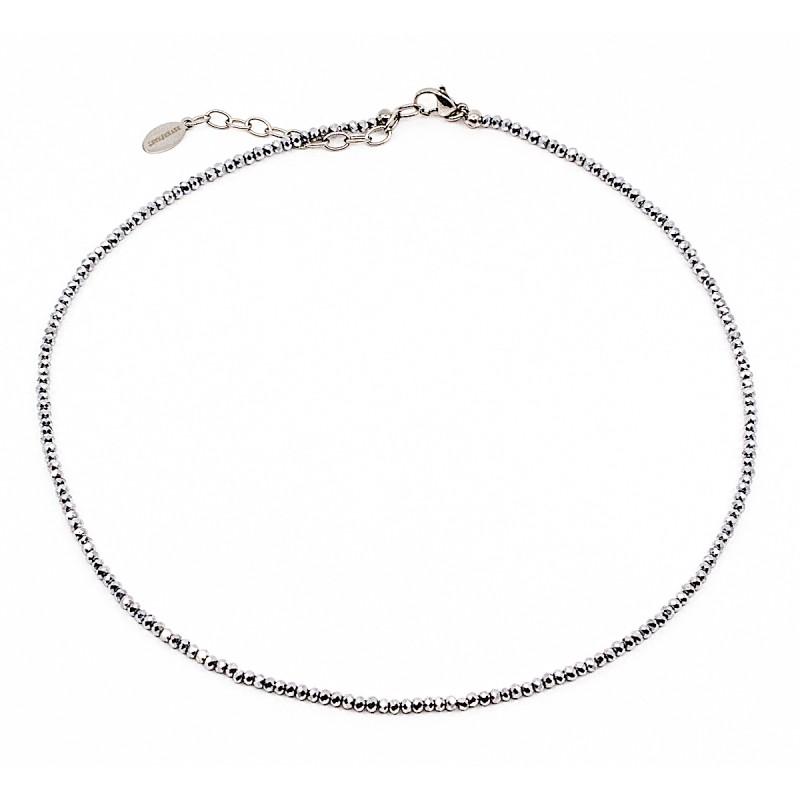 Sparkling Halsband 40cm Grå