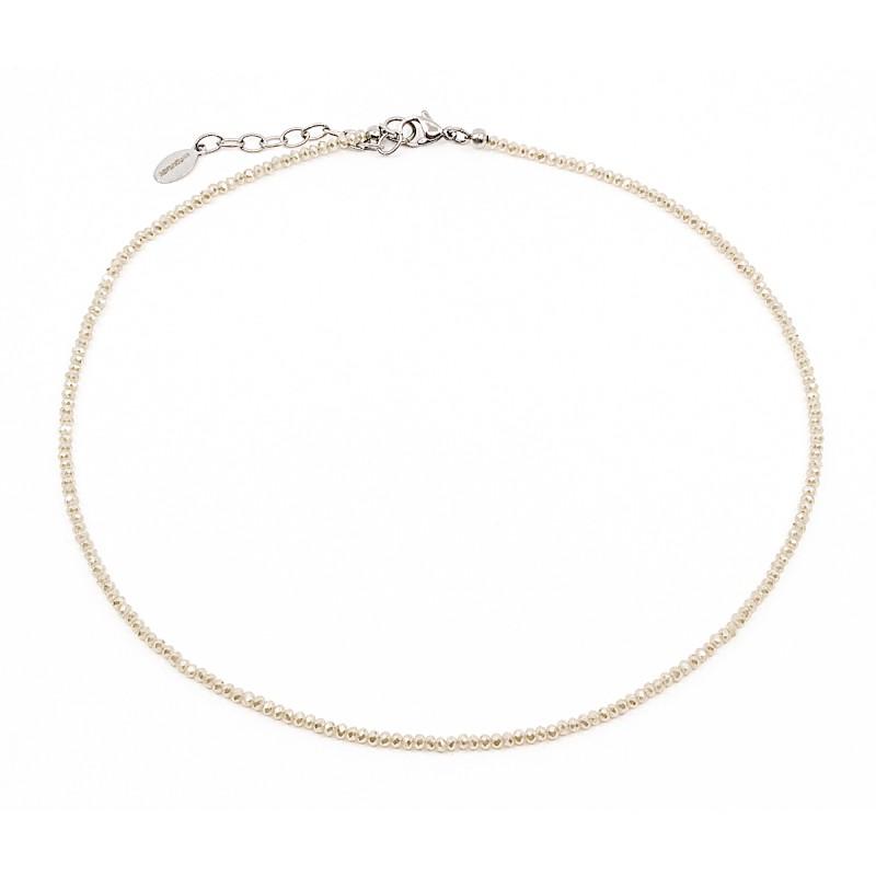 Sparkling Halsband 40cm Sand