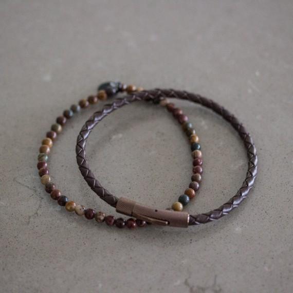 Gift set - Armband Brun