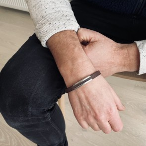 Orust Armband Brun