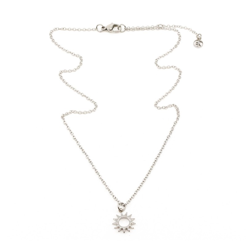 Sun Halsband 42cm Silver