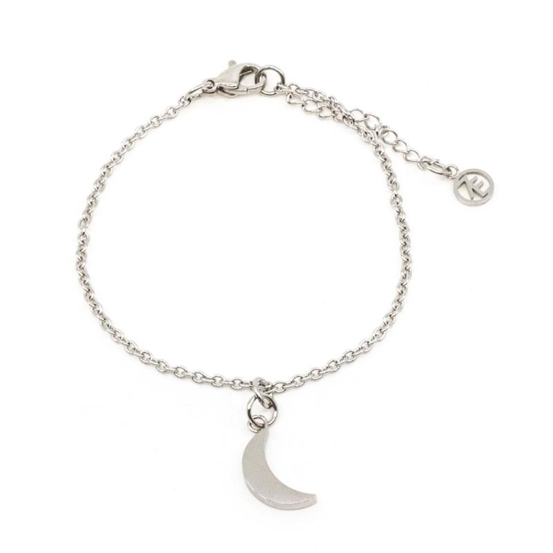 Moon Armband Silver