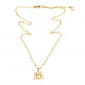 GRL PWR 2.0 Halsband 42cm Guld