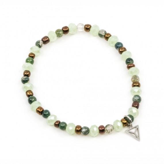 Ocean Simple Armband Grön