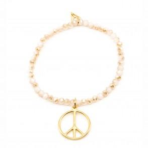 Peace Armband Sand