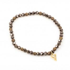 Simple Armband Brun