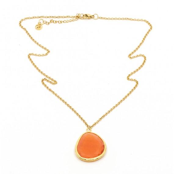 Omikron Big Halsband Orange
