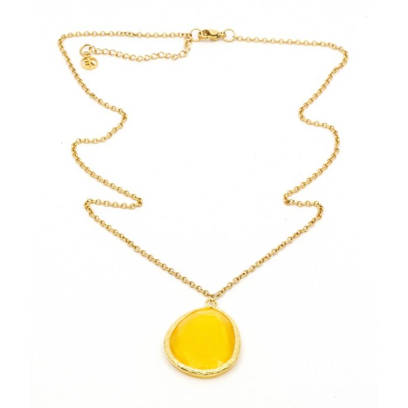 Omikron Big Halsband Yellow