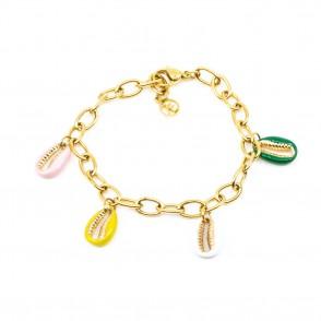 Sea Shell Armband Guld