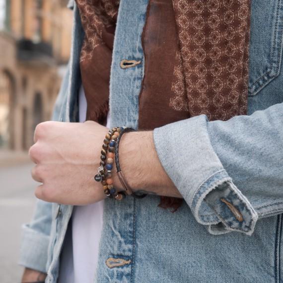 Brown Set Armband