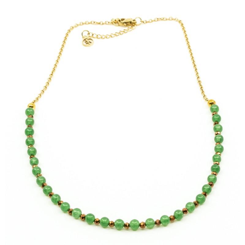 Beads Halsband Grön