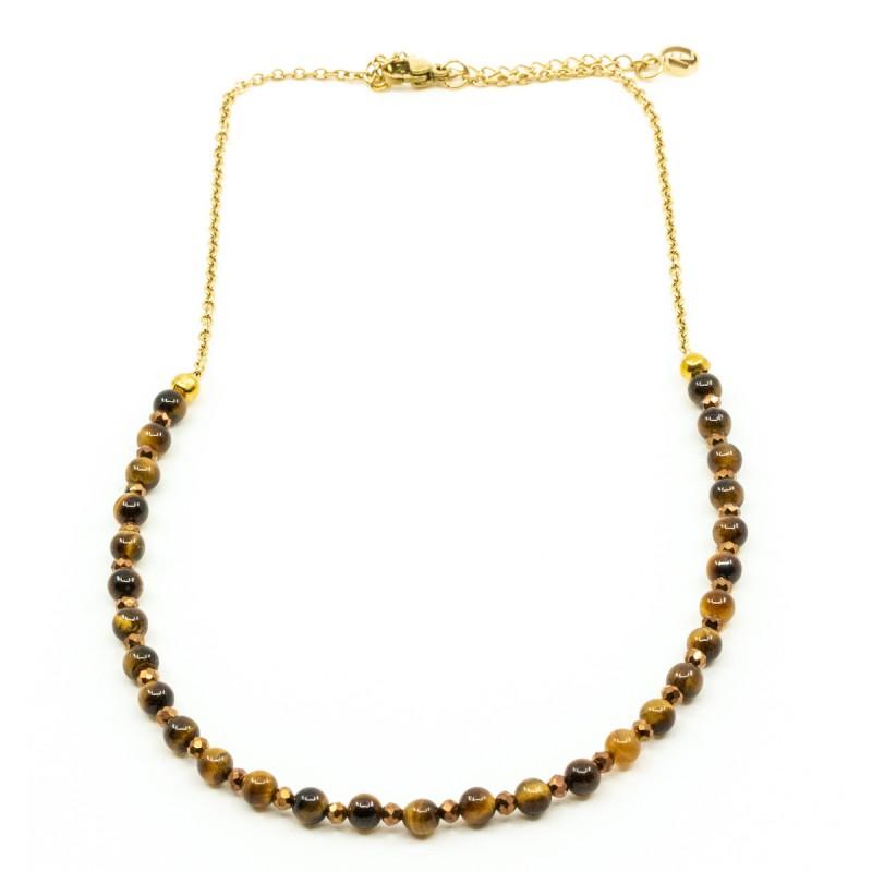 Beads Halsband Tigeröga