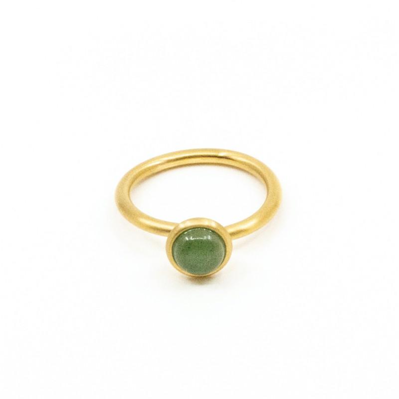 Beads Ring Grön