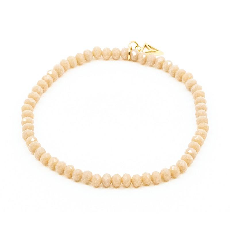 Simple Beads Armband Sand