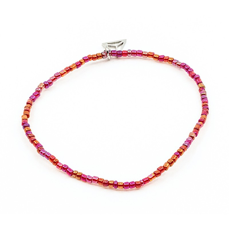 Single Colorfull Armband Rosa