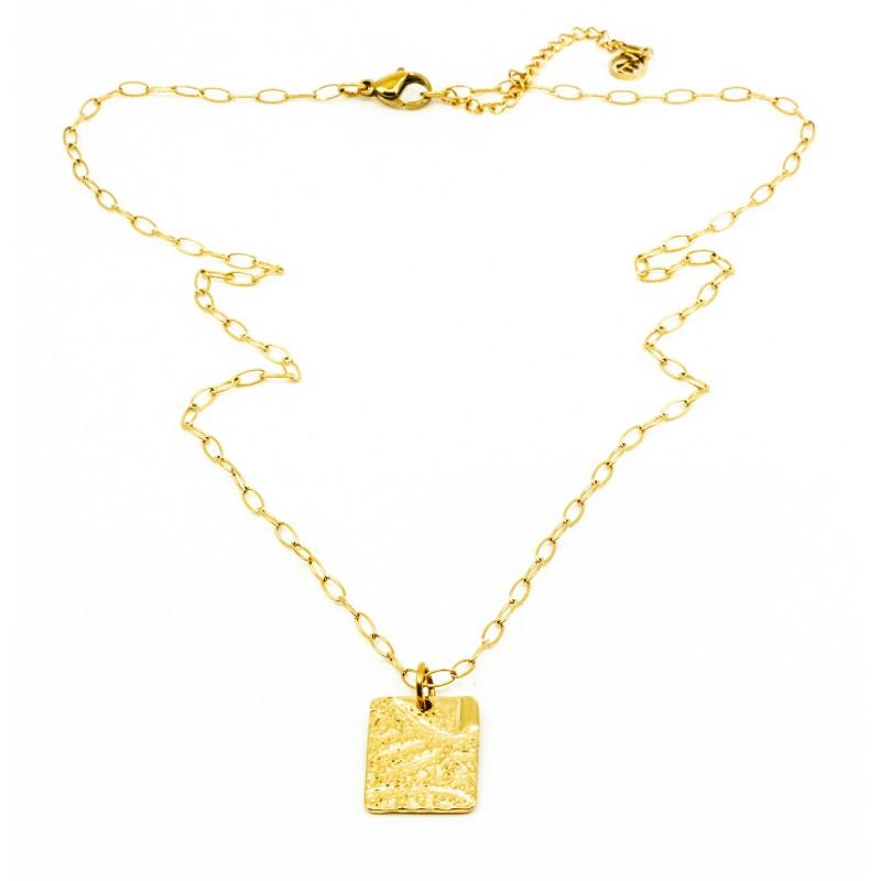Amulet Halsband Guld