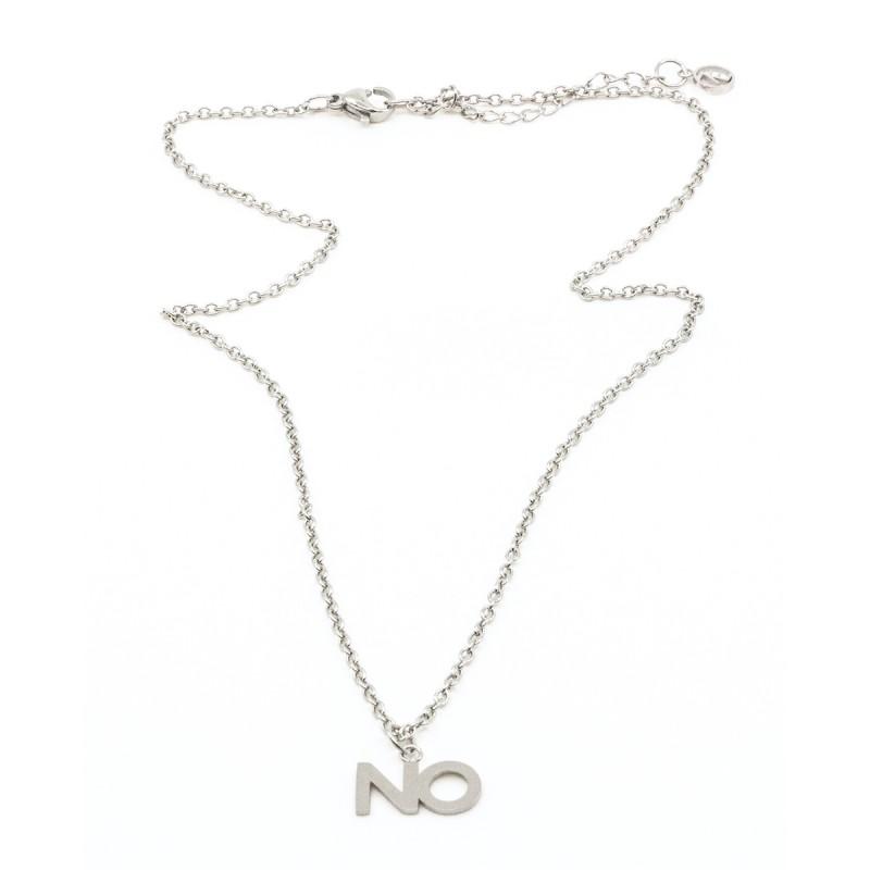 NO Halsband Silver