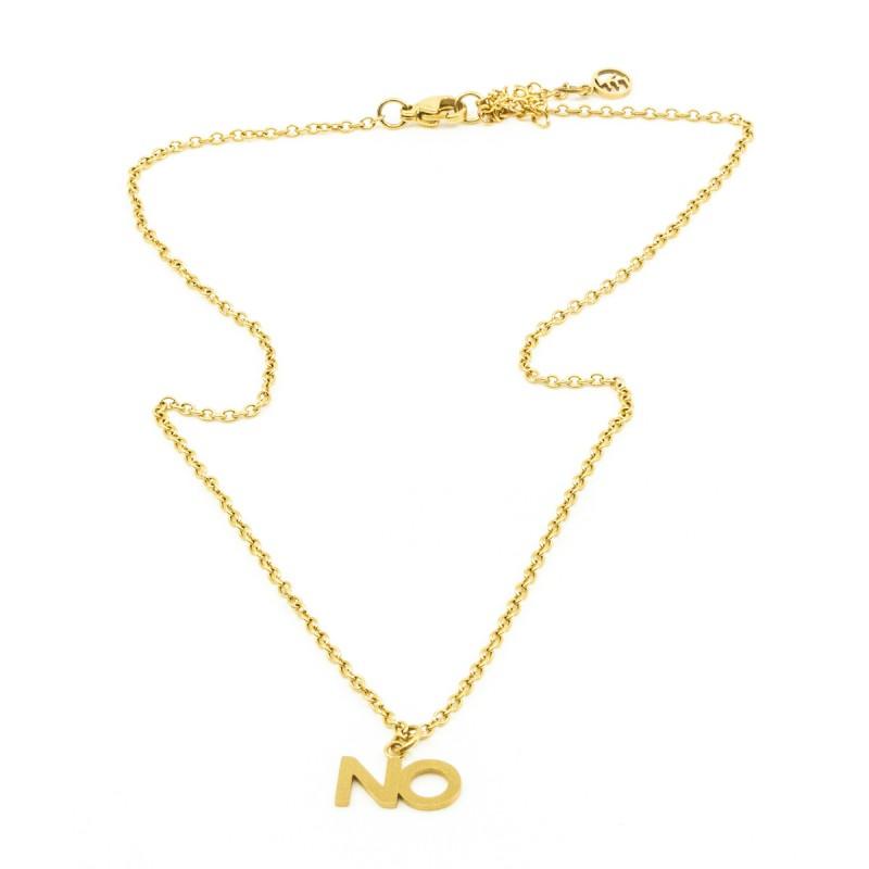 NO Halsband Guld