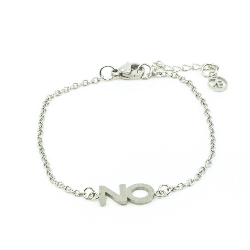NO Armband Silver