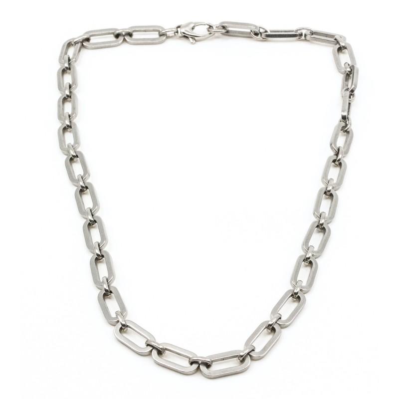 Fat Chain Halsband Silver