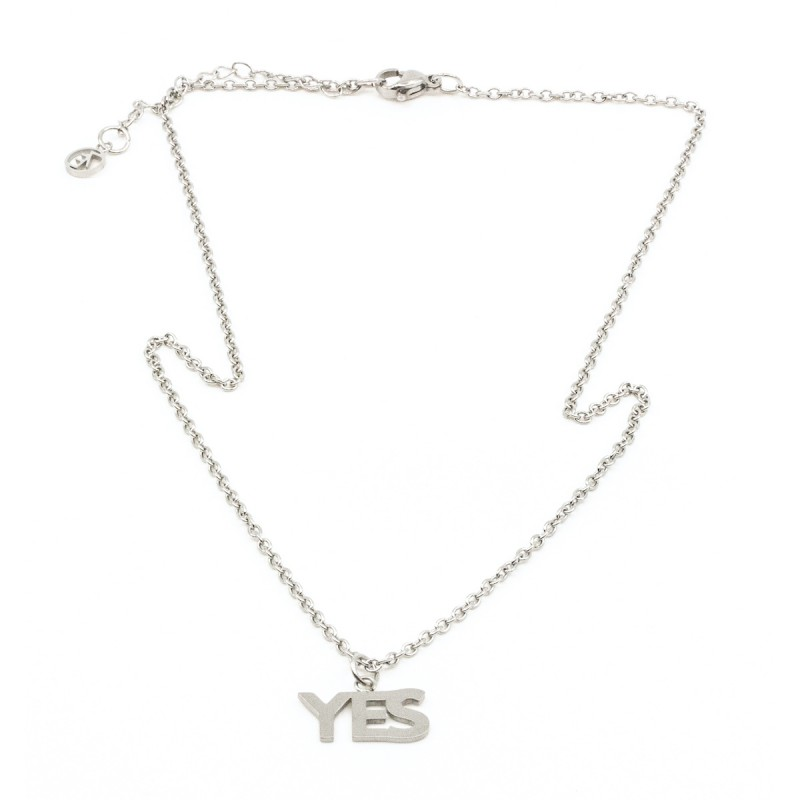 YES Halsband Silver