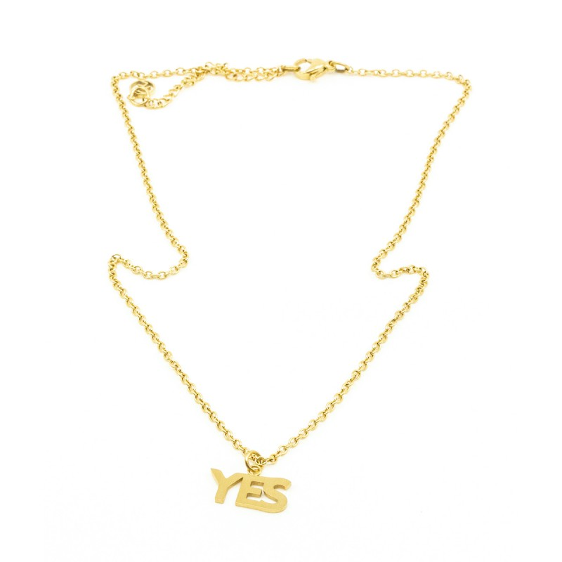 YES Halsband Guld