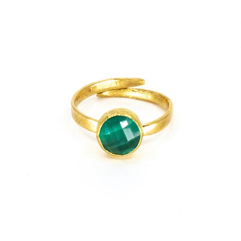 Tau Ring Grön