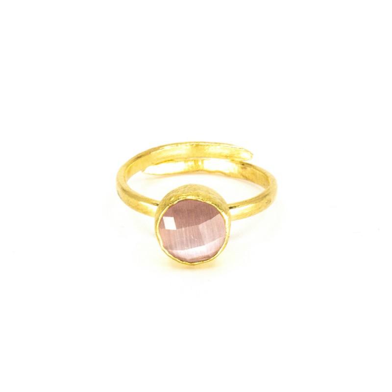 Tau Ring Rosa