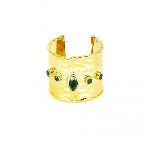 Giagia Ring Grön