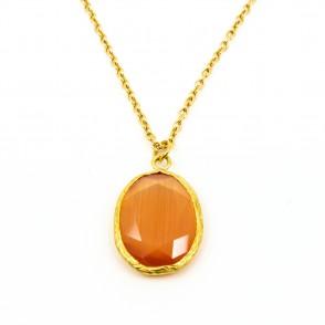 Theá Halsband Orange